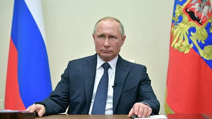 Путин поручил ввести особый порядок передвижения граждан в регионах