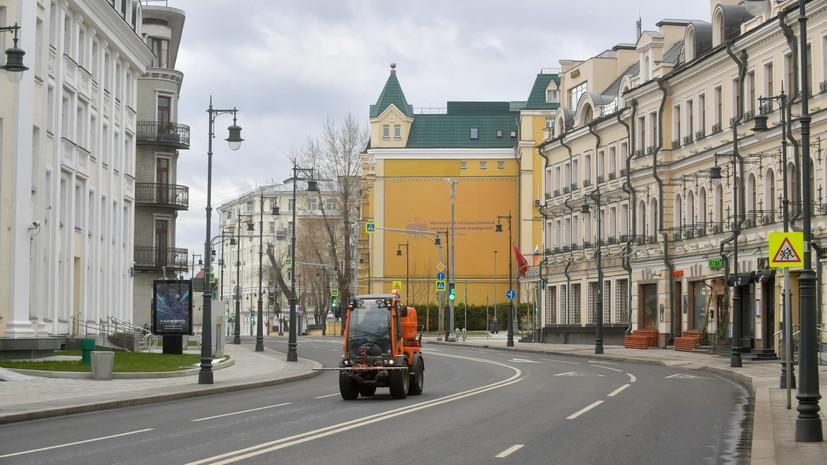 В оперштабе пояснили правила передвижения на автомобилях в Москве