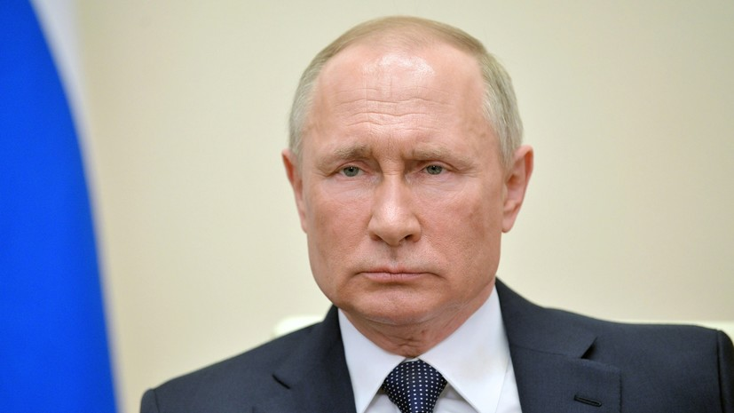 В Кремле объяснили отставание часов Путина при обращении к россиянам