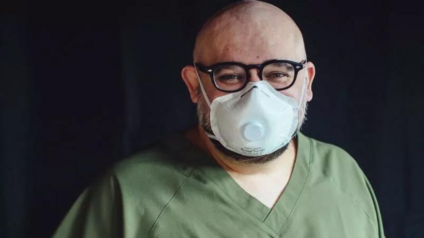 Стало известно состояние заразившегося COVID-19 главврача больницы в Коммунарке