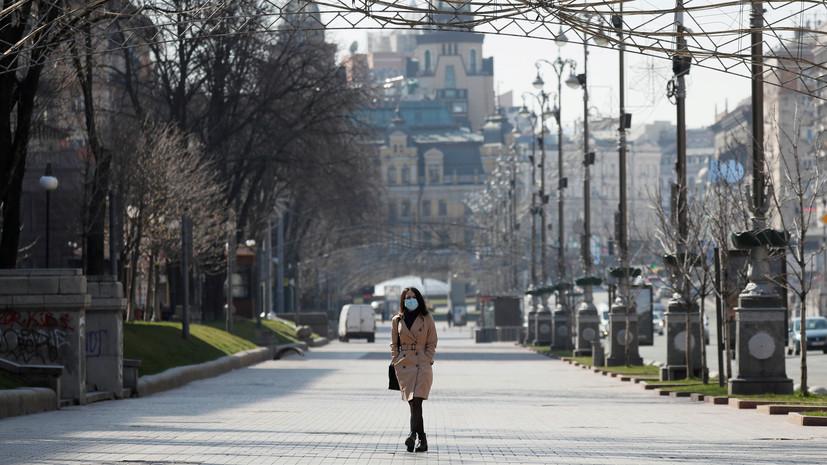 Число заболевших коронавирусом на Украине возросло до 1072