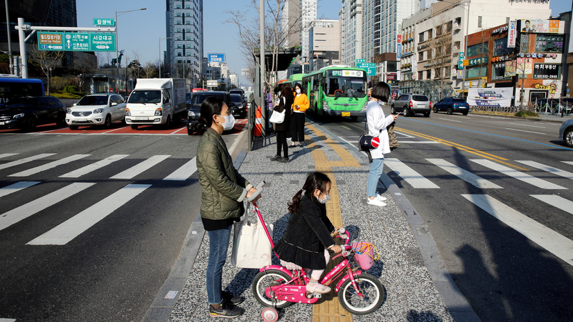 В Южной Корее число выздоровевших от коронавируса достигло 6325