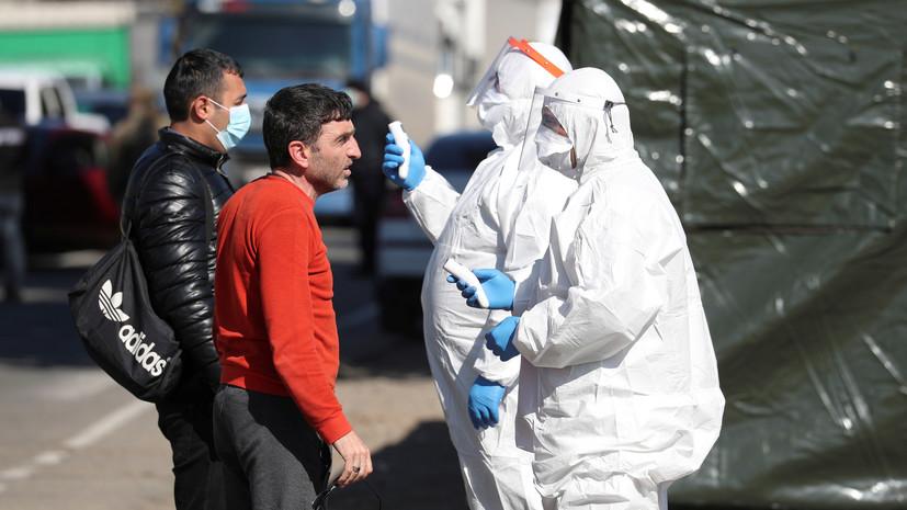 В Грузии число заражённых коронавирусом увеличилось до 156
