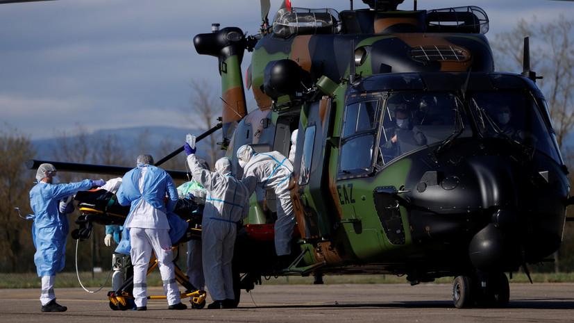 Около 600 французских военных заразились коронавирусом