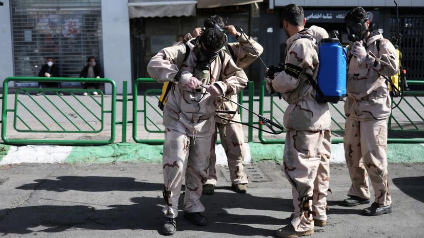 В Иране от COVID-19 погибли более 3600 человек