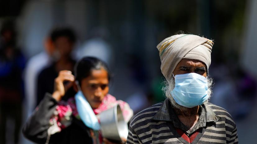 Число жертв коронавируса в Индии превысило 100
