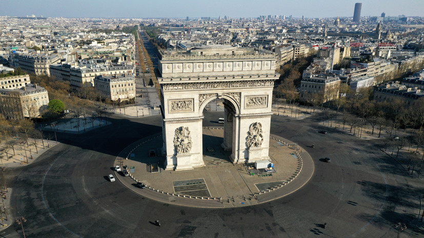 Во Франции выписали 480 тысяч штрафов за нарушение режима самоизоляции