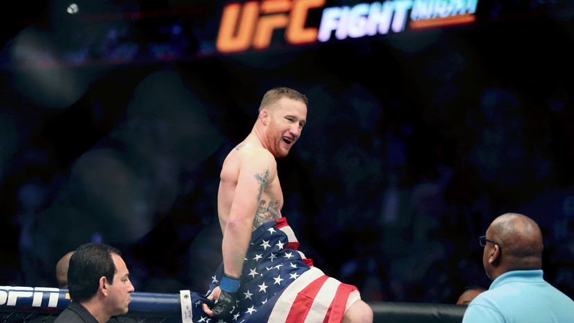 Глава UFC объявил, что Гэтжи заменит Нурмагомедова в бою с Фергюсоном