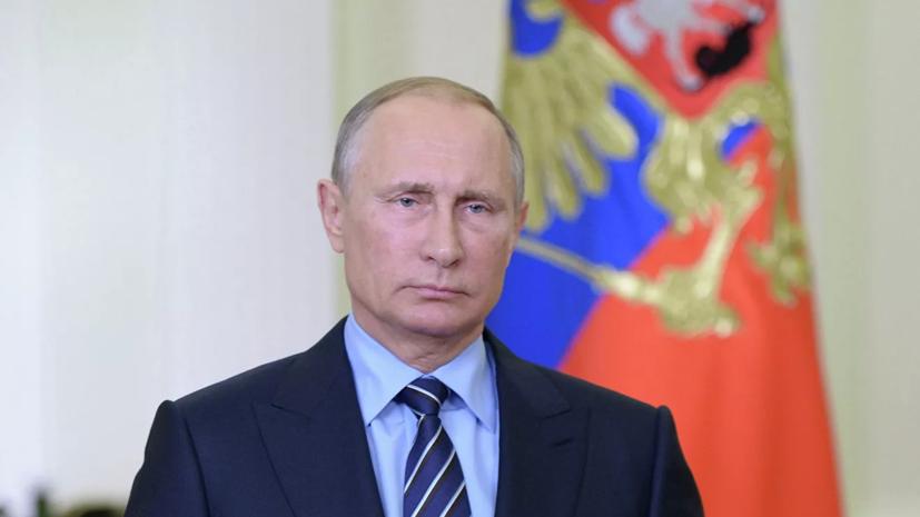 Путин пожелал выздоровления заразившемуся коронавирусом Джонсону