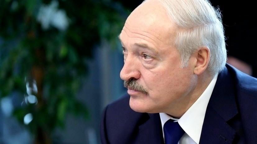 Лукашенко связал пандемию с существованием Белоруссии