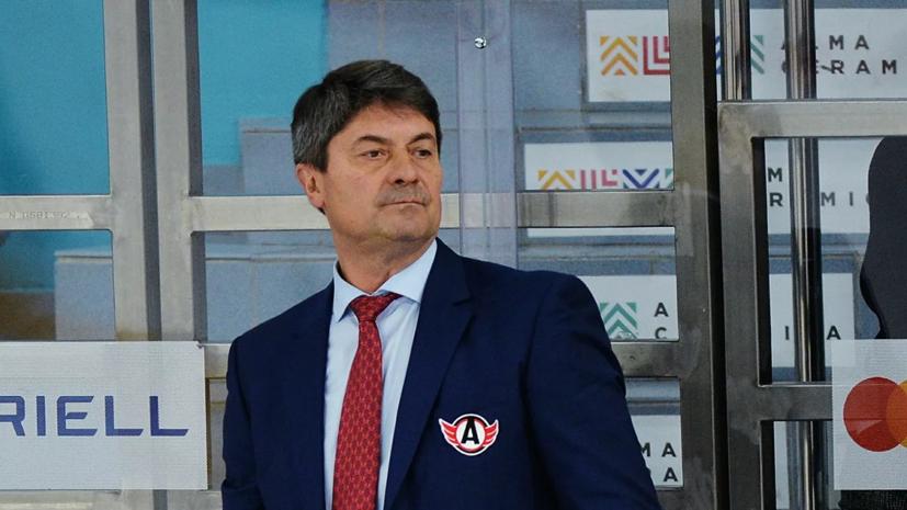 Мартемьянов покинул пост главного тренера «Автомобилиста»