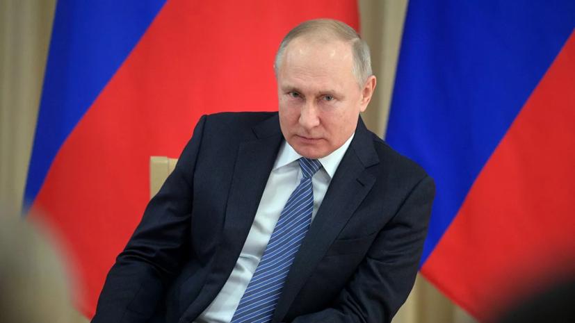 Путин назвал ближайшие недели определяющими в ситуации с коронавирусом