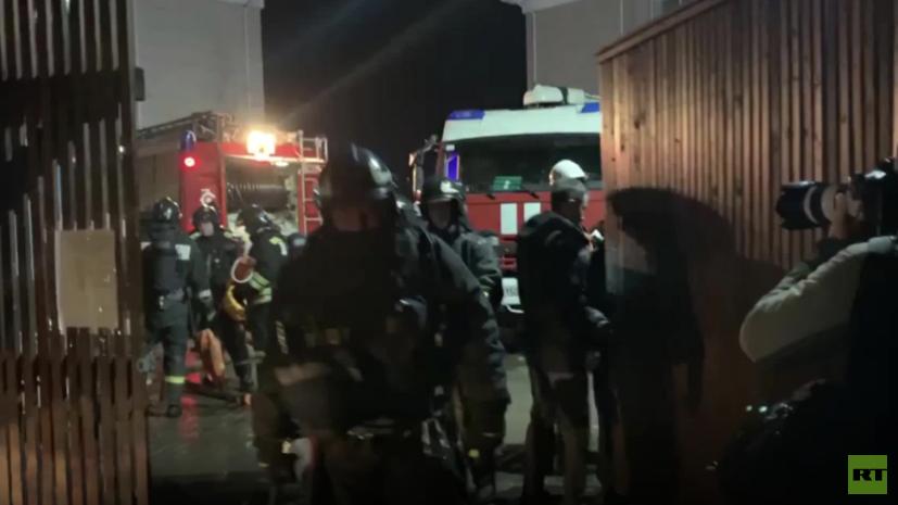 При пожаре в доме престарелых в Москве погибли два человека