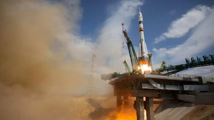 Корабль «Союз МС-16» с экипажемпристыковался к МКС