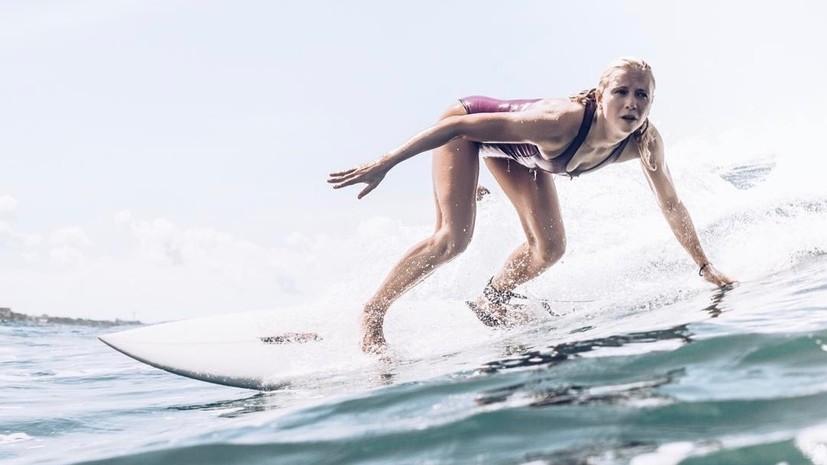 «О синхронном плавании вспоминать не хочу»: Тиманина об олимпийском золоте, увлечении сёрфингом и о примере Шараповой