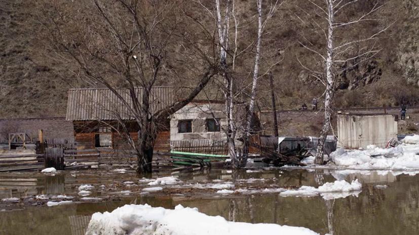 В одном из городов Хакасии ввели режим ЧС из-за подтоплений