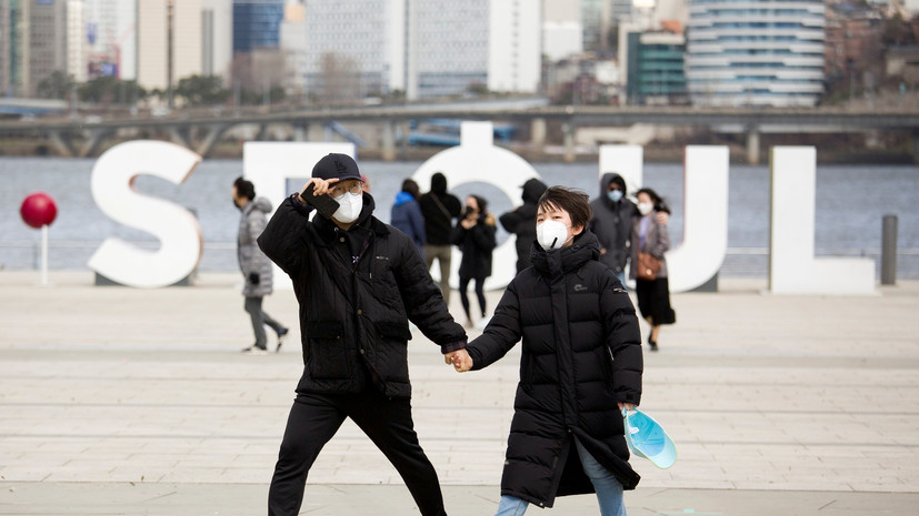 В Южной Корее число выздоровевших от коронавируса достигло 7243