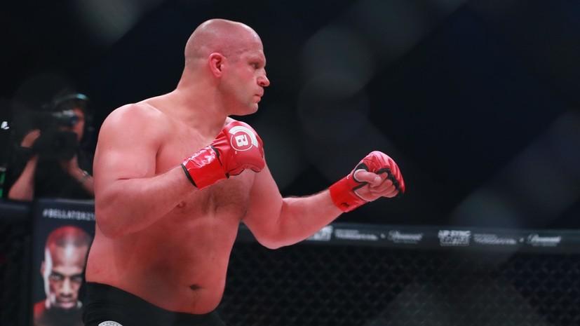 UFC опубликовал видео боя Фёдора Емельяненко