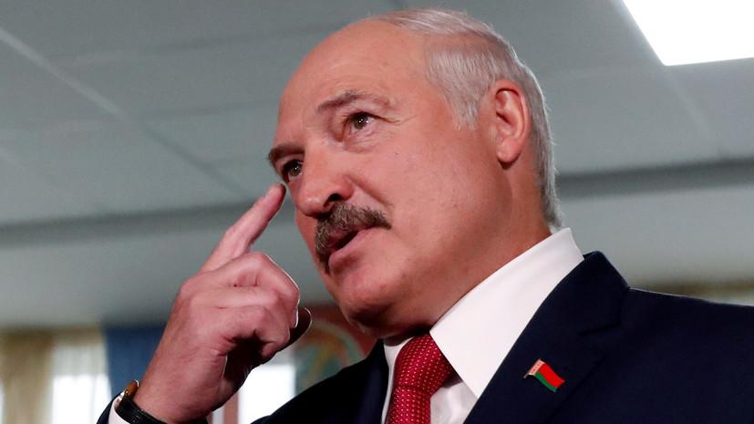 Лукашенко назвалкоронавирус уроком для наркоманов и «курцов»