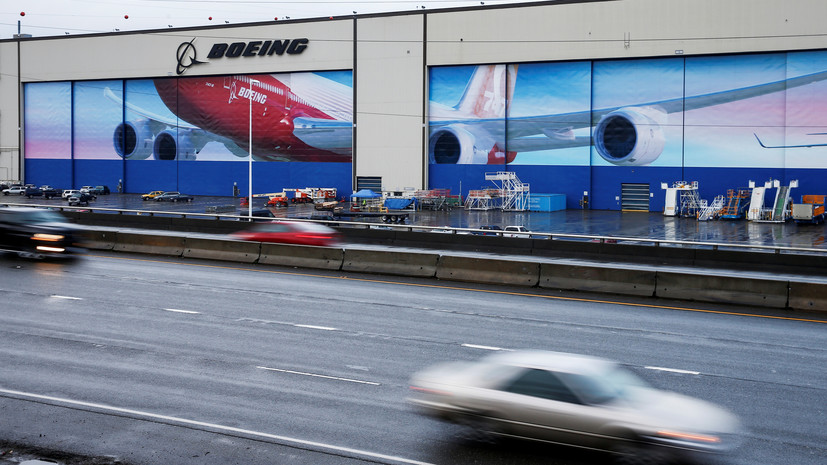 Boeing возобновит производство на заводе в Вашингтоне