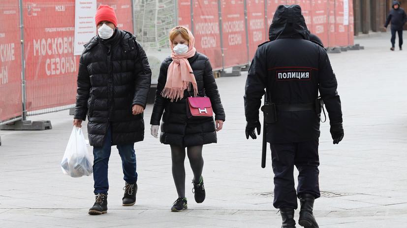 В МЧС оценили пользу от ношения масок на улице