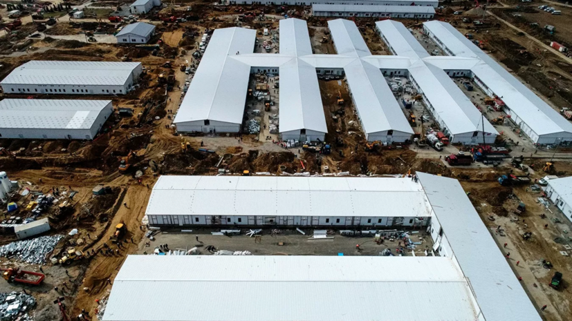 Строительство инфекционной больницы в Новой Москве завершено