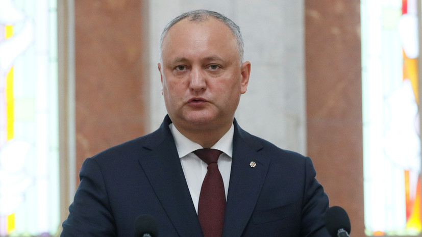 Молдавия и Россия подписали соглашение о кредитовании