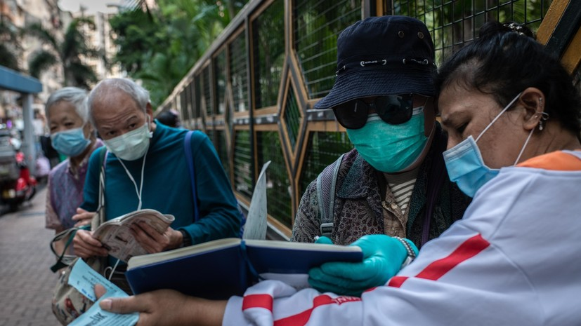 В Китае выявили 27 новых случаев заражения коронавирусом за сутки