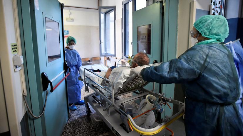 Число жертв коронавируса в Италии превысило 23 тысячи