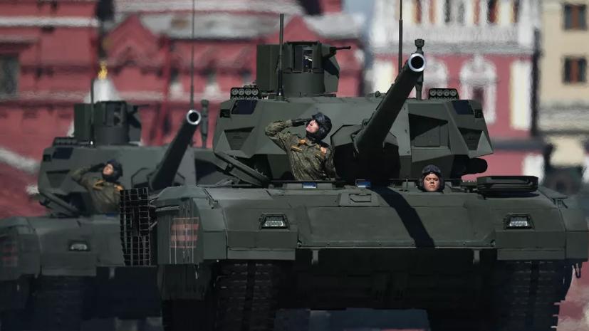 Мантуров рассказал об испытаниях танка «Армата» в Сирии
