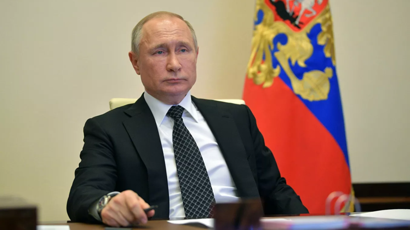 Путин: пик заболеваемости коронавирусом впереди