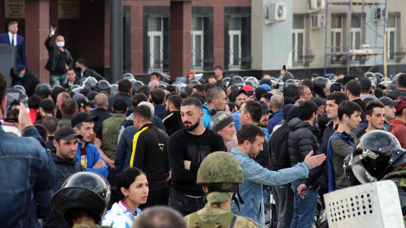 «Оседлали широкий спектр риторики»: COVID-диссиденты устроили митинг во Владикавказе