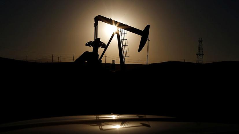 Цена нефти WTI вновь стала отрицательной