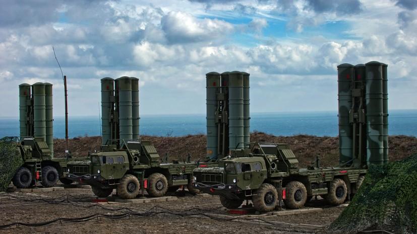 В Крыму прошли учения расчётов С-400 по противовоздушной обороне