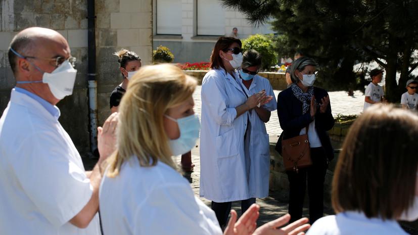 Во Франции за сутки скончались 516 человек с коронавирусом