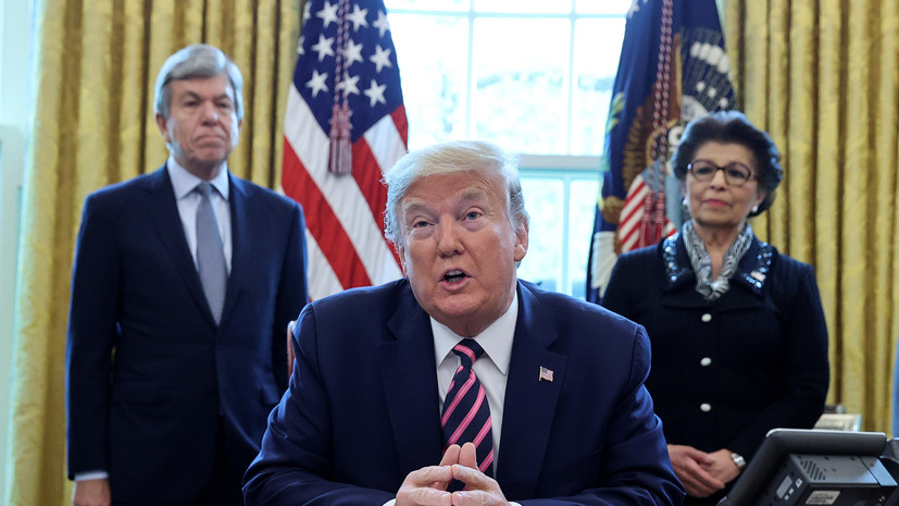 Трамп подписал закон о стимулировании экономики почти на $500 млрд