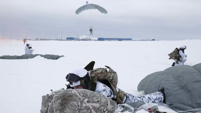 ВДВ впервые в истории десантировались с высоты 10 км в Арктике