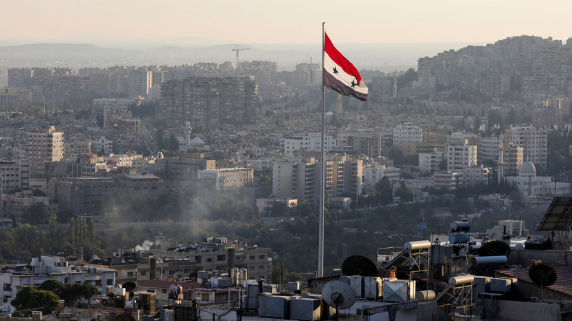 SANA: три человека погибли при ударе Израиля в районе Дамаска