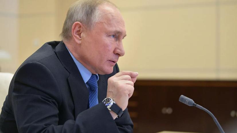 В Кремле рассказали, следит ли Путин за чемпионатом Белоруссии по футболу