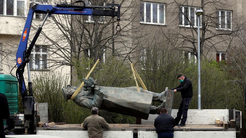 Чехия готова к переговорам с Россией опередаче памятника Коневу