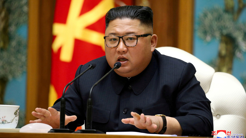 Южнокорейский министр прокомментировал данные о состоянии Ким Чен Ына
