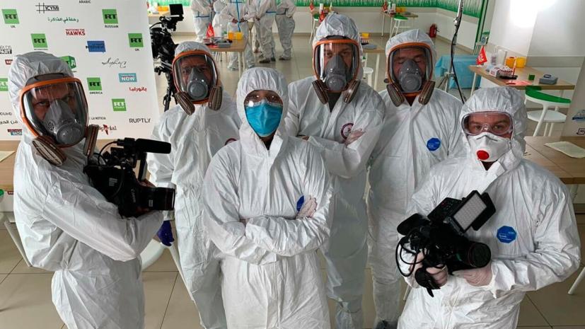 RT стал первой в России компанией, которая проводит скрининг-тесты на антитела к COVID-19 для своих сотрудников