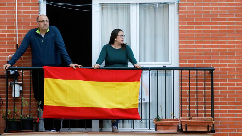 В Испании за сутки умер 301 человек с коронавирусом