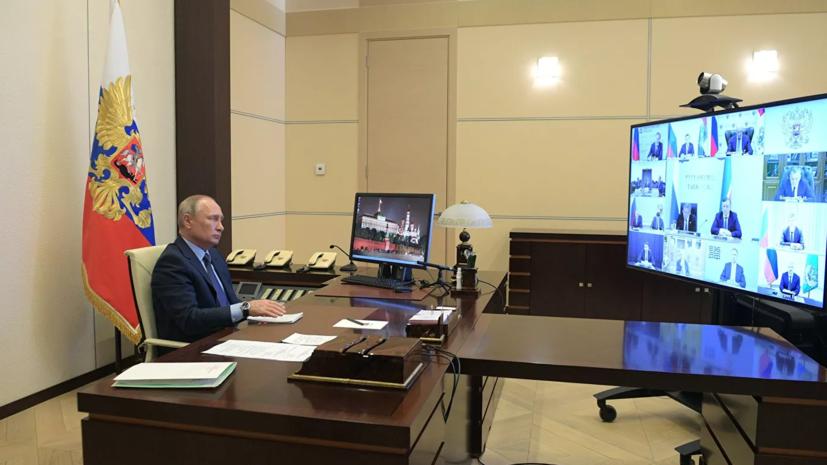 Путин объявил о продлении нерабочих дней