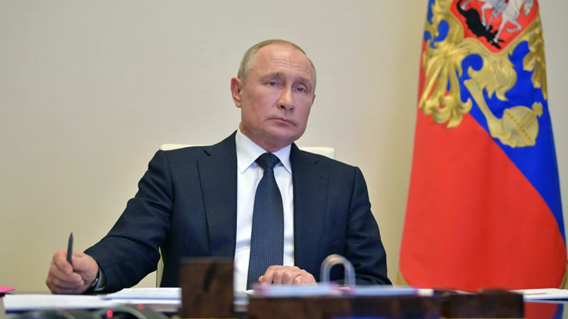 Путин заявил, что пик заболеваемости коронавирусом в России ещё не пройден