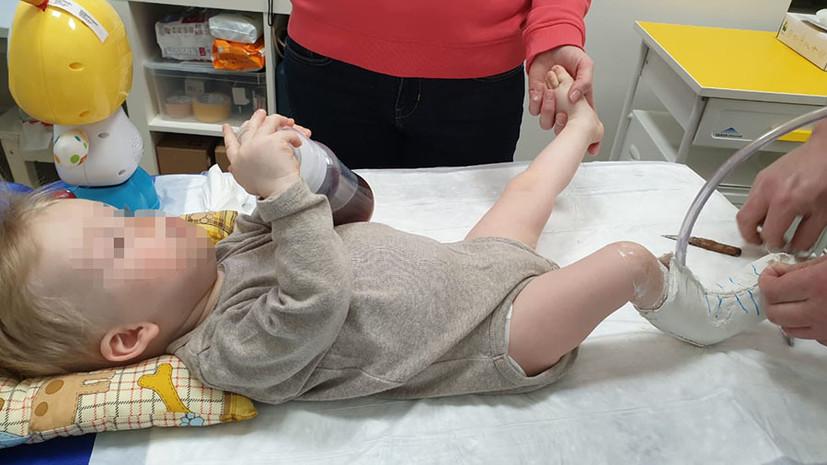 «Мы благодарны всем, кто оказывал помощь»: мальчика из России спасли от смертельной болезни