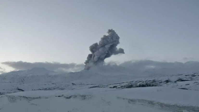 Учёный оценил вероятность серьёзного извержения вулкана Эбеко