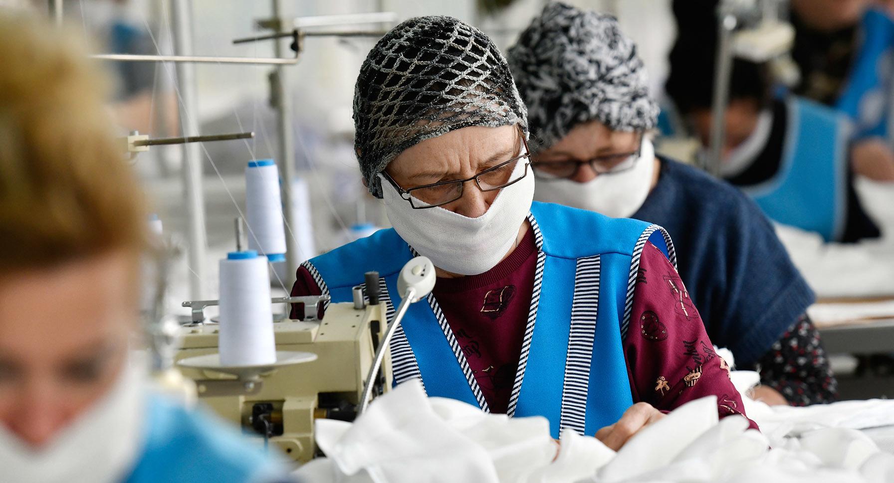 производители защитных масок в россии