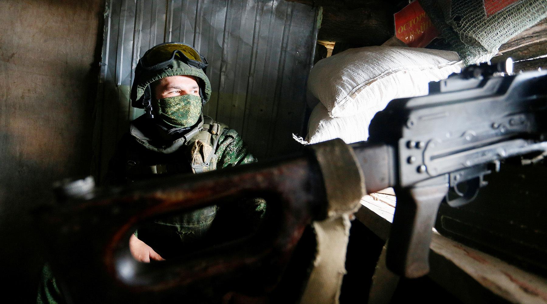 Силы НМ ДНР подавили огневые точки ВСУ