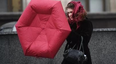 В Москве и Подмосковье объявлен «жёлтый» уровень опасности из-за ветра